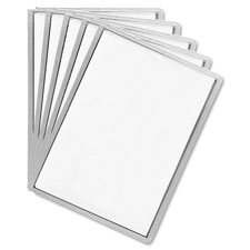 "Display panel sleeve, 9-1/2""x12"", set of 5, assorted, sold as 1 set"