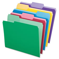 Esselte Pendaflex Erasable Tab File Folders