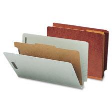 Smead End-Tab Classification Folders w/ Dividers