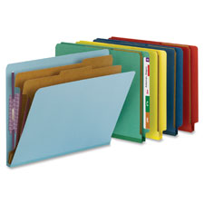 "SMEAD MANUFACTURING CO Classification Folder,2"" Expansion,Letter,10/BX,Bright Red at Sears.com"