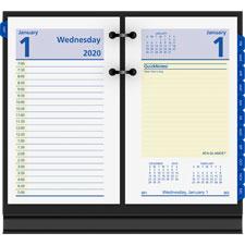 At-A-Glance QuickNotes Daily Desk Calendar Refill
