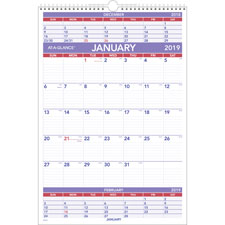 At-A-Glance 3-Month Wall Calendar