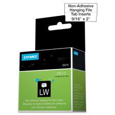 Dymo LabelWriter Hanging File Tab Inserts