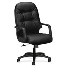 "Exec high-back chair,26-1/4""x29-3/4""x46-1/2"", charcoal, sold as 1 each"