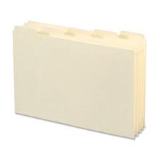 Smead 1/5 Cut Blank Tab Card Guides