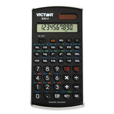 Victor 10-Digit Dual-Power Scientific Calculator