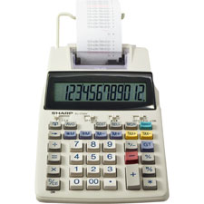 Sharp 12-Digit Desktop Printing/Display Calculator