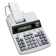 Canon Heavy-Duty 14-Digit 2-Color Print Calculator