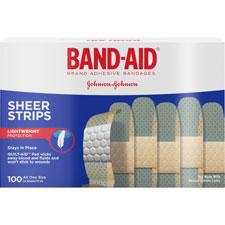 Johnson Band-Aid Sheer Adhesive Bandages