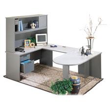 Lorell Modular Group Workstation