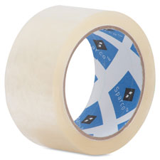 "General purpose sealing tape, 1-7/8""x164', 3"" core, clear, sold as 1 package, 6 roll per package"