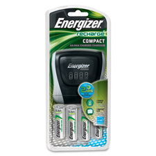 Energizer NiMH Charger w/AA Batteries