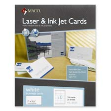 Maco Tag Label Paper and Pads