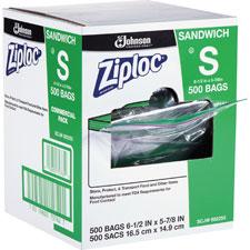JohnsonDiversey Ziploc Resealable Sandwich Bags