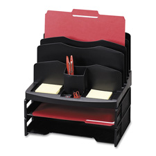 Sparco Smart Solutions Organizer w/ Ltr Tray