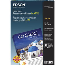Epson Matte Heavyweight Inkjet Papers