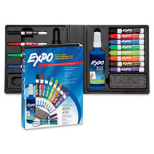 Sanford Expo 2 Low-Odor Dry-erase Marker Kit