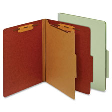 Globe Weis Letter Classification Fldrs w/Dividers