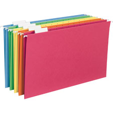 Smead Assorted Legal Size Hanging File Folders