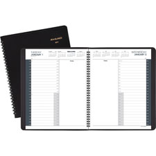 At-A-Glance Prof. 24 Hour Daily Appointment Book