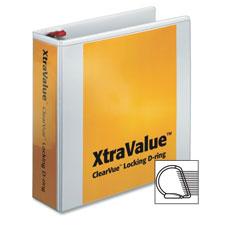 Cardinal Xtravalue Clearvue Locking D-Ring Binders