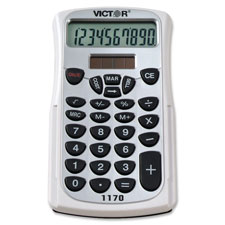 Victor 10-Dgt LCD Handheld Bus. Analyst Calculator