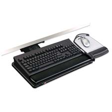 3M Adjustable Positive Locking Keyboard Tray