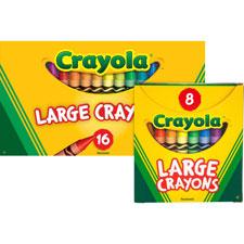 Crayola Large Lift-Lid Box Crayons