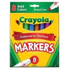 Crayola Regular Bold Markers
