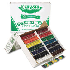 Crayola Class Pack Colored Pencils