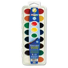 Dixon Washable 16-Color Semi-Moist Cake Wtrcolors