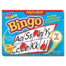 Trend Alphabet Bingo Learning Game