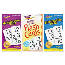 "SPR Product By Trend Enterprises - Math Flash Cards Addition 0 To 12 3""x5-7/8"" at Sears.com"