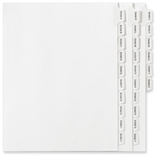 Avery A-Z Legal Exhibit Dividers