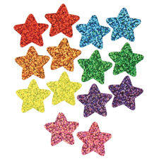 Trend Enterprises Trend Sparkle Variety Pack Star Stickers