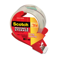 3M Scotch Mailing & Storage Tape w/Dispenser