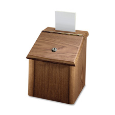 Lorell Woodgrain Suggestion Box