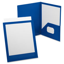 Esselte Framed Twin Pocket Window Portfolios