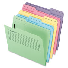 Esselte Pendaflex Preprinted Notes File Folders