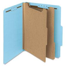 Smead 2-Divider Colored Classification Folders