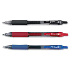 Zebra Sarasa Gel Retractable Pens