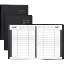 At-A-Glance 8-Person Daily Appointment Book