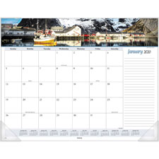 At-A-Glance Panoramic Seascape Desk Pad