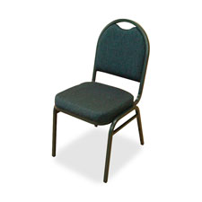"Stack chairs,18""x22""x35-1/2"",4/ct,bby/bk fabric/ccl frame, sold as 1 carton, 4 each per carton"
