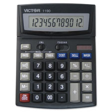 Victor 12-Dgt Executive Desktop Display Calculator