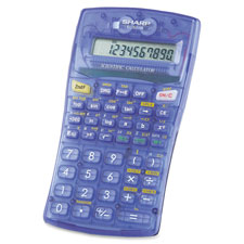 Sharp 10-Digit Ergonomic Scientific Calculator