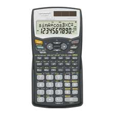 Sharp 12-Digit Scientific Calculator