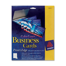 Avery Color Laser Business Cards