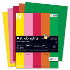 Wausau Astrobrights Asstd 24lb Heavyweight Paper