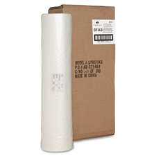 """Laminating roll, 1.5 mil, 1"""" core, 18""""x500', 2/ct, clear, sold as 1 carton, 100 roll per carton"""